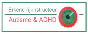 Erkend rij-instructeur Autisme & ADHD Logo