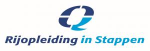 Rijopleiding in stappen logo